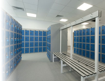 Lockers at Slingsby