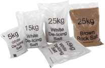 salt and grit bags for winter