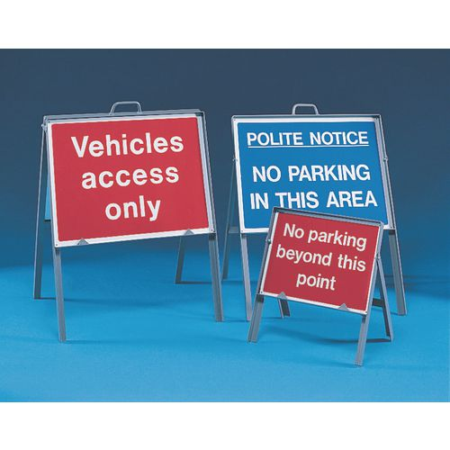 Sign Holders SIGN FREE STANDING FRAME 420 ALUMINIUM