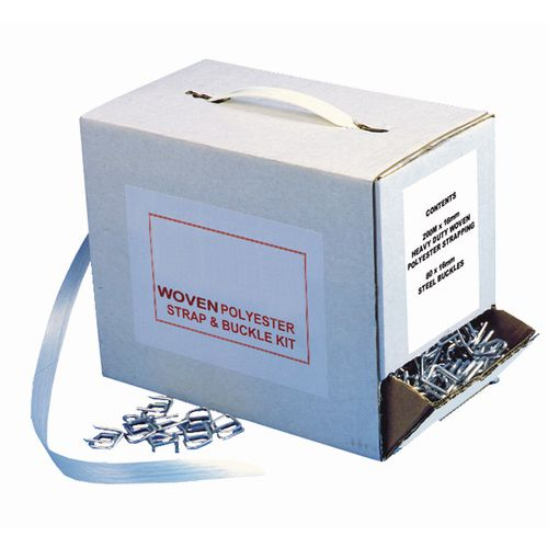 Strapping STRAPPING - POLYESTER - KIT POLYESTER STRAP & BUCKLE KIT