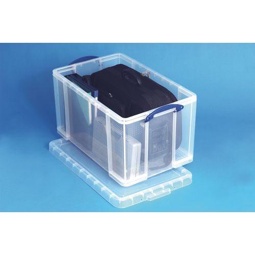 Really Useful Box® - Transparent containers - 84 litres