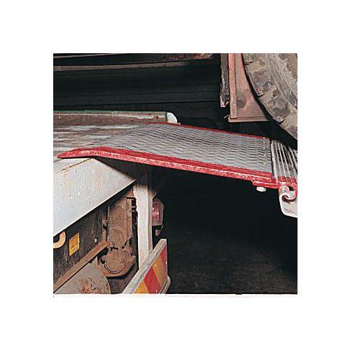 Hinged aluminium bridge plates