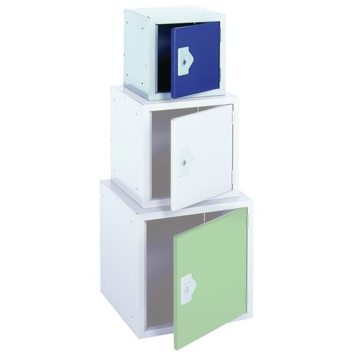 Up To 1200mm High Cube lockers - 305 x 305 x 305mm