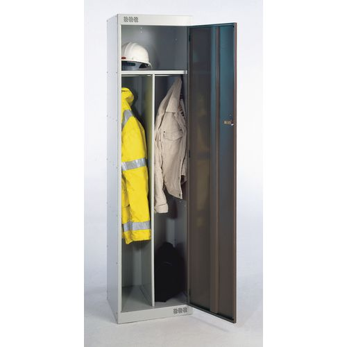Over 1200mm High Clean & dirty lockers - standard top