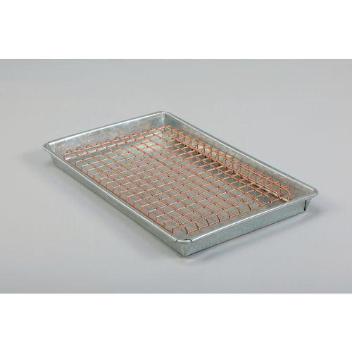Galvanised steel drip tray