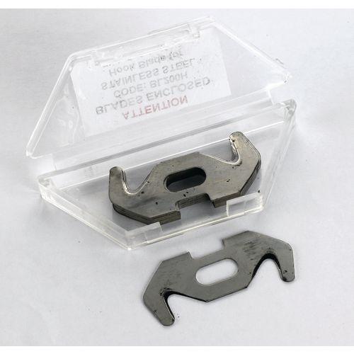 Medium duty safety cutter replacement blades - hook blades