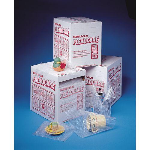 Bubble film dispenser kit, roll L x W: 33m x 300mm