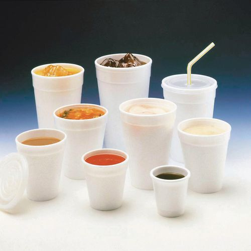 Disposable Cups & Accessories CUPS - POLYSTYRENE, 7OZ WHITE PACK OF 1000