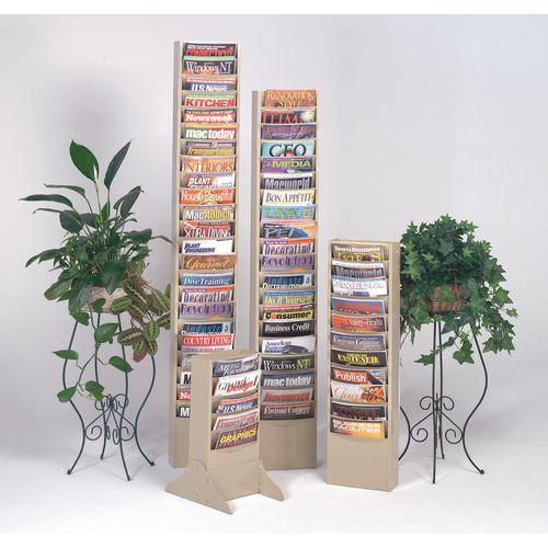 Certificate / Photo Frames Metal literature display racks - 20 x A4 pockets