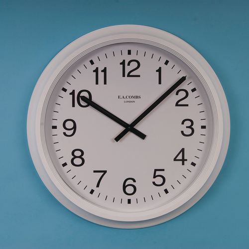Wall Wall clock - commercial radio controlled - large face