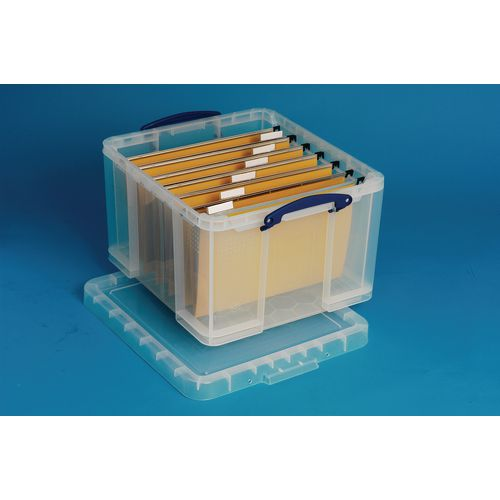Really Useful Box® - Transparent containers - 35 litres document box