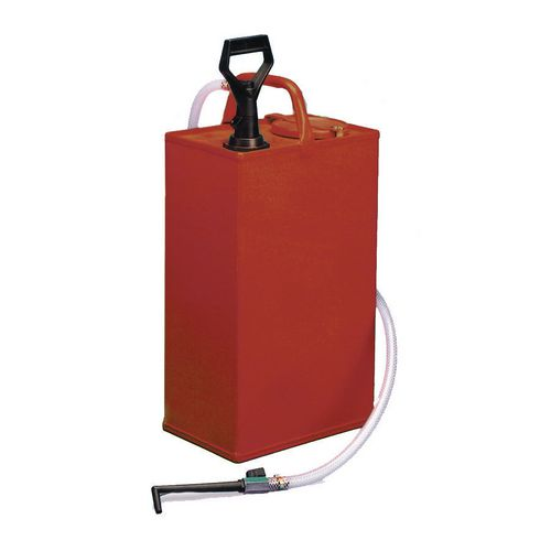 Heavy duty gear oil bucket, without trolley