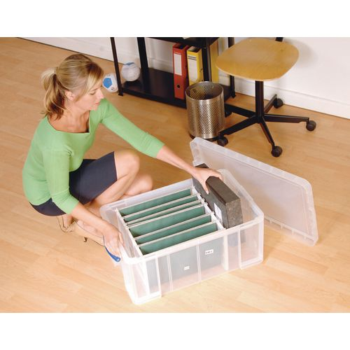 Really Useful Box® - Transparent containers - 42 litres handy box