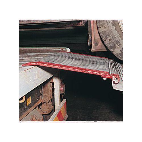 Hinged Dock Plates : Hingerail fitting metres dock plates