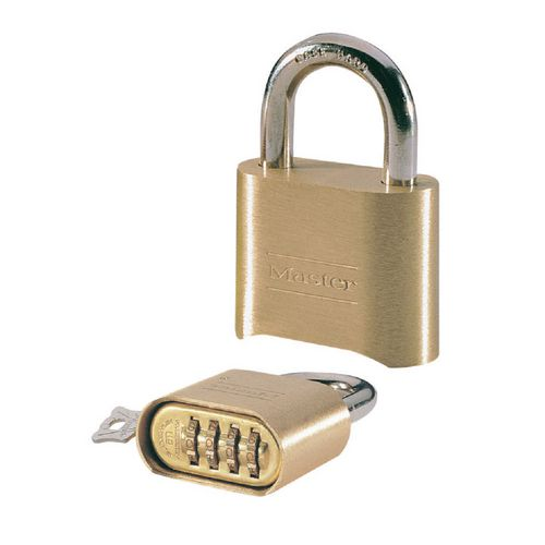 Padlocks 51mm Brass combination padlocks