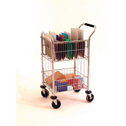 Mail distribution cart