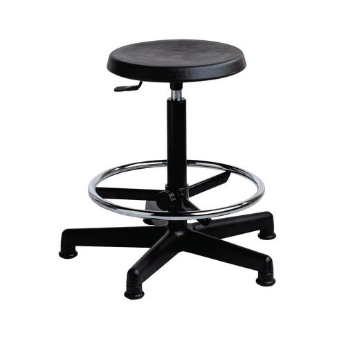 Industrial stool, height adjustment 500-700mm