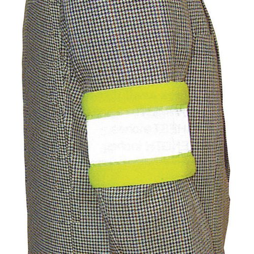 Hi-visibility reflective armbands