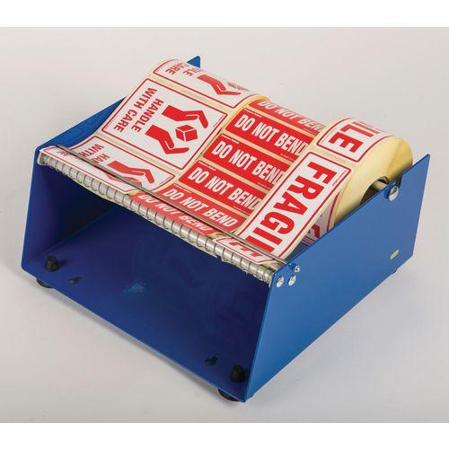 Label dispensers, max. roll dia. x lwidth - 210 x 250mm