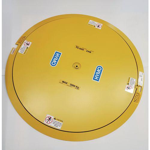 Heavy duty pallet turntable