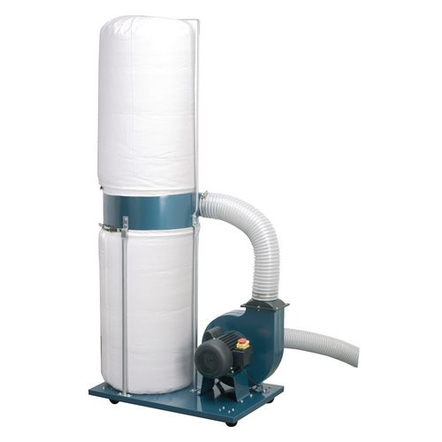 Dust and chip extractors - Single inlet extractor, capacity 17 cu.m per min