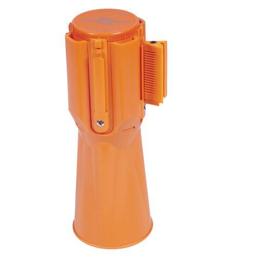 Tensator cone retractable barriers.