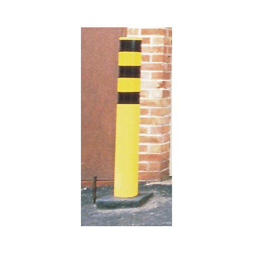 Steel safety bollard - outdoor