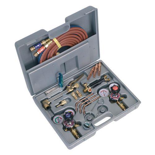 Gas welding/cutting set