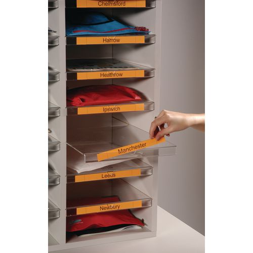 Literature Sorters CLEARVIEW FREESTANDING SORT UNIT EXTRA SHELVES PACK 5