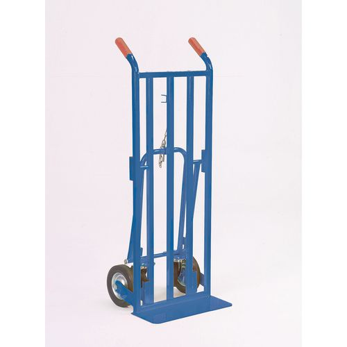 3-in-1 Sack truck with fixed footiron