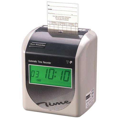 Attendance Machines Fully automatic time recorders, standard