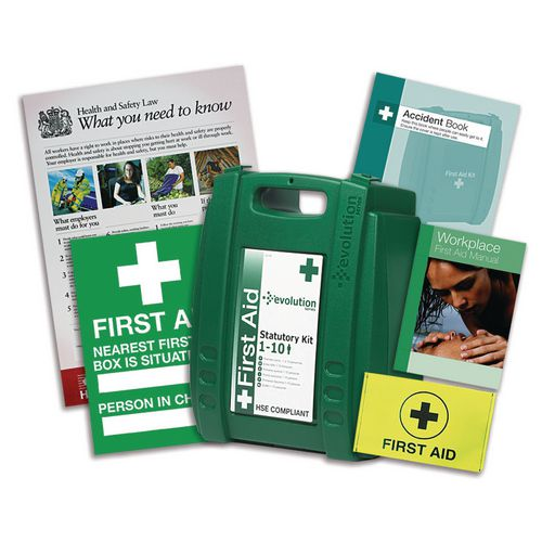 First aid kit and compliance pack