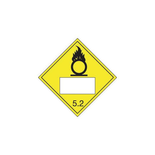 Un placards in accordance with the international maritime dangerous goods - Oxide 5.2