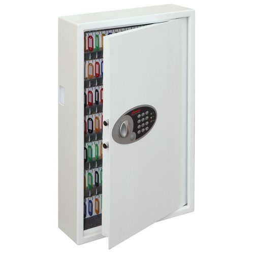 Electronic key cabinet safe