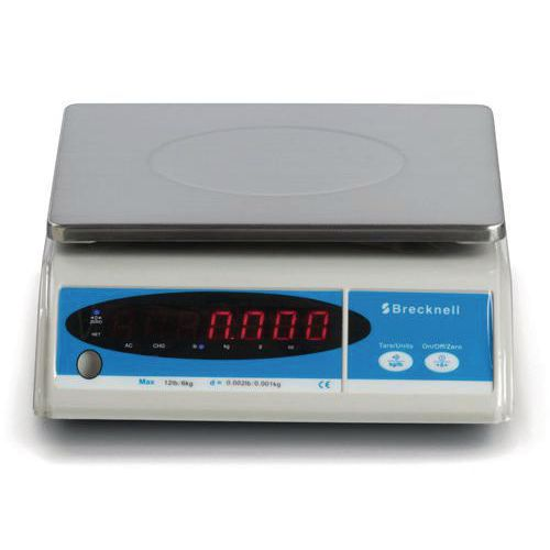 Electronic bench-top scales, capacity 15kg