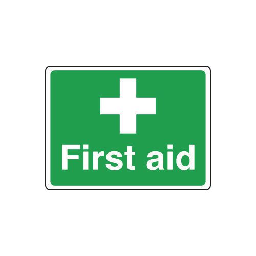 Safe condition and first aid signs - First aid sign - small
