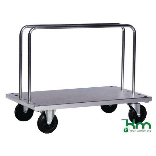 Heavy duty zinc plated board trolley