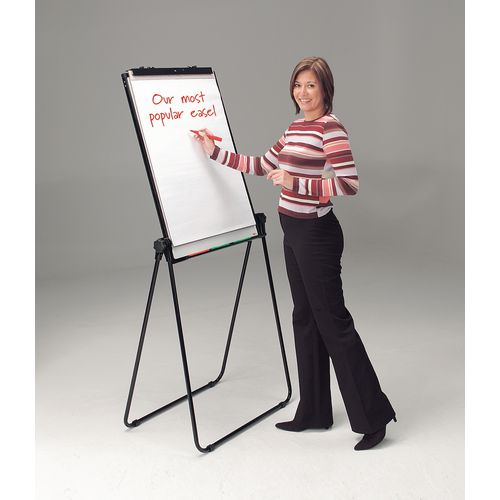 Easels Ultimate double-sided flipchart easel and whiteboard