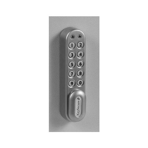 Electronic cam lock door security safety
