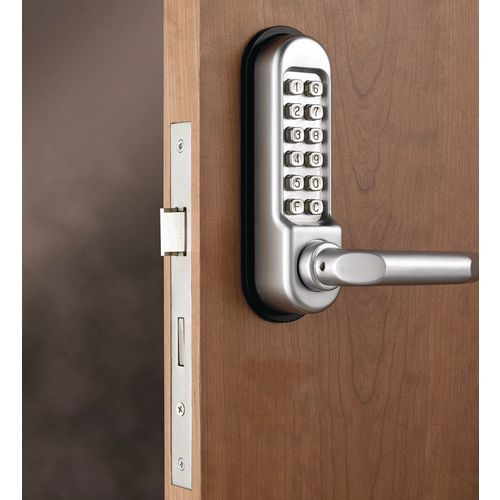 Push Button Mechanical Digital Door Lock Lever Handle