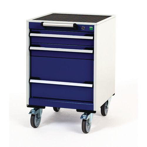 Tool Boxes Bott heavy duty mobile cabinets, 2 x 100mm and 1 x 300mm drawers