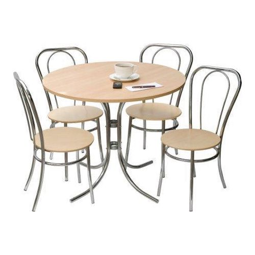 Canteen / Dining BISTRO SET DELUXE - 4 CHAIRS AND 1 TABLE