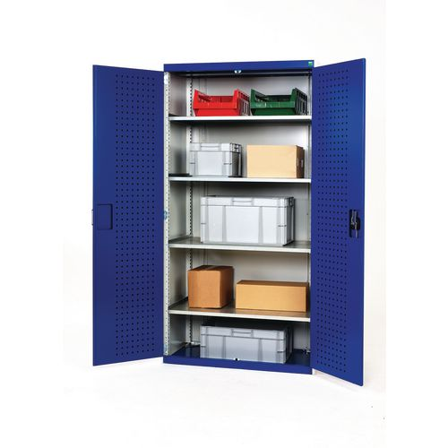Tool Boxes Bott heavy duty workshops cupboards with 4 shelves