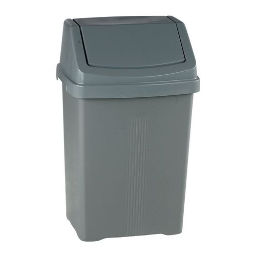 Plastic swing bins