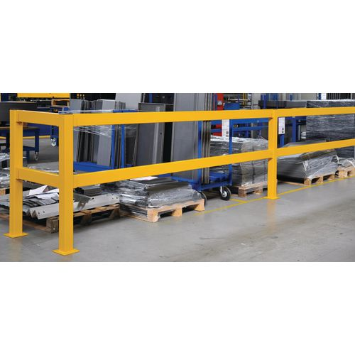 Lift out barrier rails 3000mm
