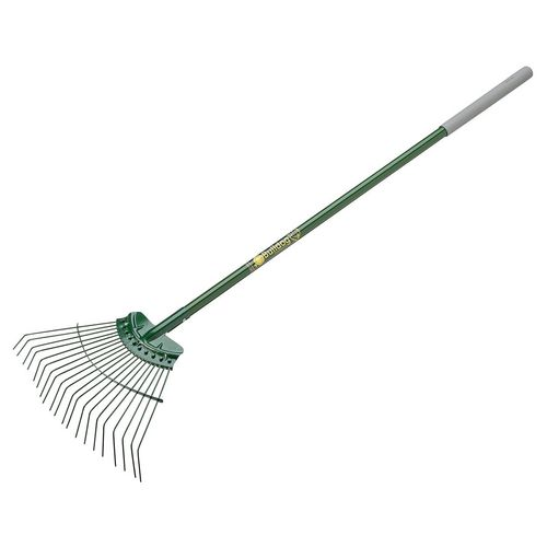 "Litter Picker EVERGREEN LAWN RAKE 54"" ALUMINIUM"