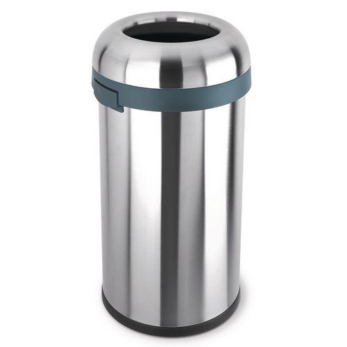 Simplehuman medium bullet open top rubbish bin
