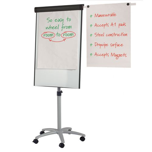 Magnets MOBILE PRO EASEL WITH SIDE ARMS AND MAGNETS - GREY