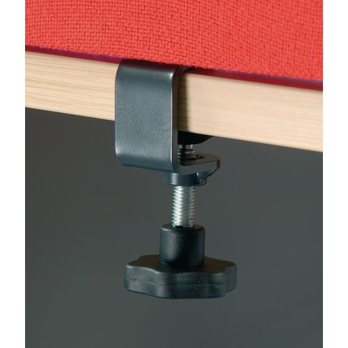 Brackets DESKTOP SCREEN FIXINGS-CLAMPS - GREY WXDXH: 80 X 270 X 35