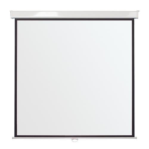 Budget wall projector screens